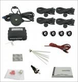Senzor de parcare cu 4 senzori, avertizare acustica Model 1505