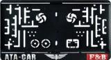 Suport numar patrat pentru jeep SPJ01