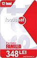 Cartela reincarcare Focus Sat Pachet Familia 12 luni