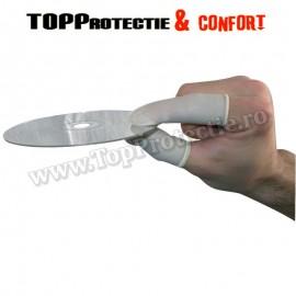 Aparator de deget din latex elastic in loc de manusi - PRET PACHET 100BUC