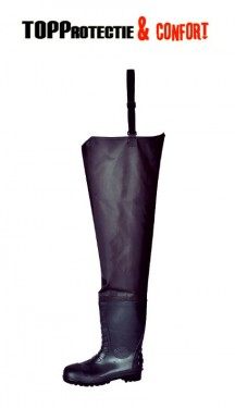 Cizme impermabile PVC-Nitril negre