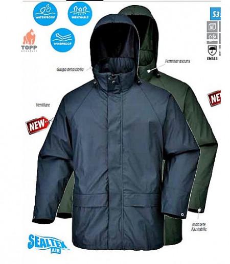 Jacheta de ploaie Sealtex, impermeabila respirabila PRO