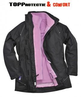 Jacheta iarna dame, model 3 in 1