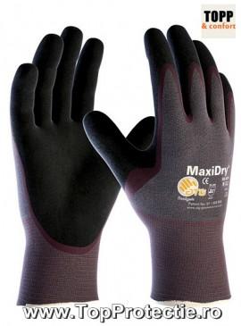 Manusi de protectie ATG maxidry 56-424 rezistente la ulei