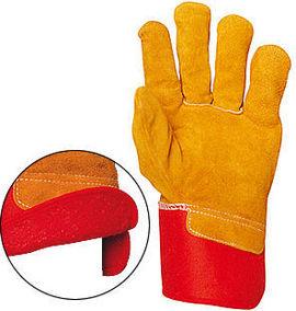Manusi iarna de protectie din piele Imblanite 330