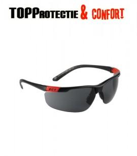 Ochelari protectie UV policarbonat usori, antizgariere incolor si fumuriu