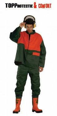 Pantaloni de lucru verde Forestier rezistent la taiere
