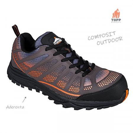 Pantofi de lucru cu bombeu Outdoor