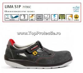 Sandale de protectie Ergonomice din piele ESD, SRC