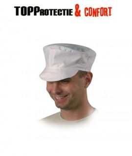 Șapcă din bumbac alb 100% pentru industria alimentara