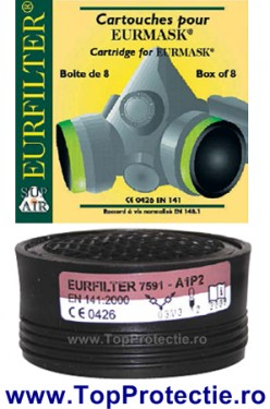 Filtru protectie gaz + vapori pt. Smimasca Euromask UNO si DUE A1P2R cod 22130