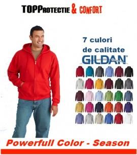 Hanorac barbati Colorissimo Gildan rosu + diverse culori