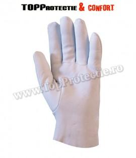 Manusi de protectie din piele integrală de ovină, moale, subțire