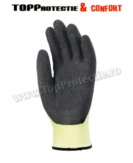 Manusi de protectie pentru solicitare mecanica extrema,Taeki,galben fluo