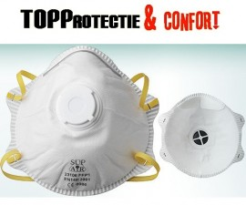 Masca de protectie cu supapa impotriva praf FFP1 SupAir INDISPONIBIL