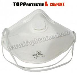 Masca de Protectie cu supapa, SUPAIR CU SEGMENTE FFP2 NR D SL - PRET 20BUC