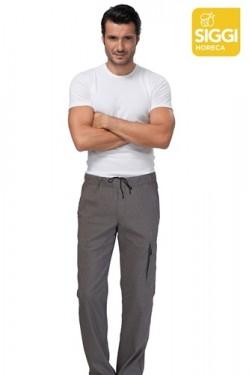 Pantaloni chef cu elastic si snur Austin