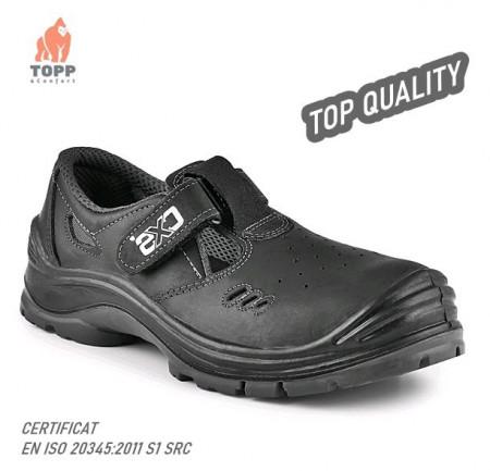 Pantofi de lucru cu scai tip sandale S1