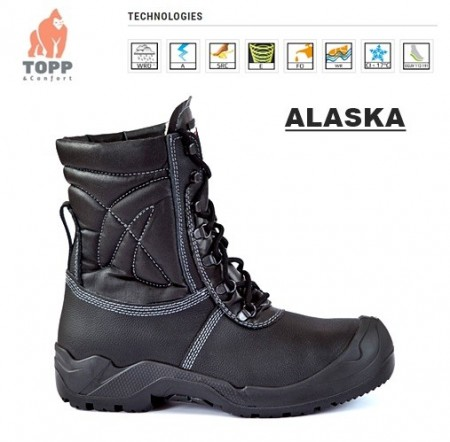 Protectie depozi frig, zapada, iarna ALASKA