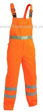 Salopeta reflectorizanta tercot portocaliu
