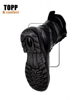 Bocanci SWAT paza, jandarmi rezistenti la umiditate cu Cordura