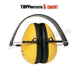 Cască antifon ABS,MAX 600,Earline, întărită, flexibilă, albastră (31060) sau galbenă (31061)