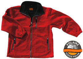 Jacheta polar rosie groasa extrem de rezistenta - Garantie 1 An