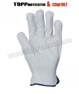 Mănuși de protecție rezistente și confortabile, de bună calitate,din piele fina de bivol