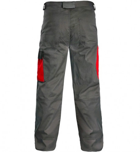 Pantalon talie vara de lucru Gri/albastru