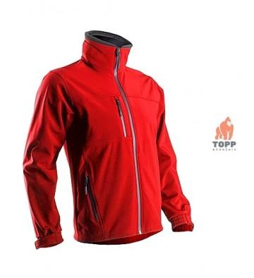 Recomandam jacheta toamna Outdoor-Work pentru lucru, rosie