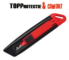 Cutter Ultra Safety negru cu rosu