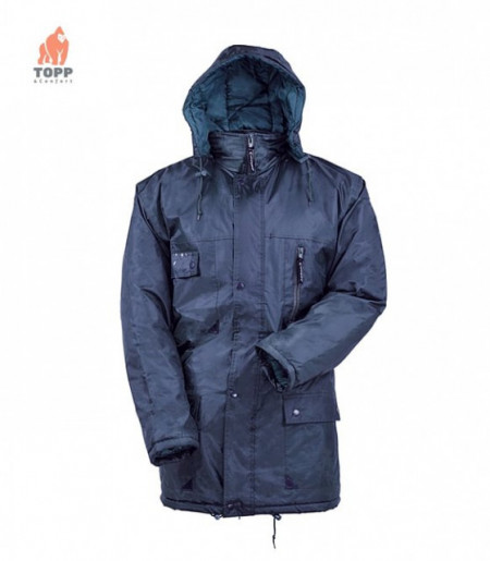 Jacheta de lucru din poliester hidrofobizat cu PVC