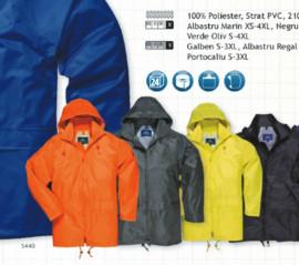 Jacheta ploaie clasica in diverse culori Galben, portocaliu, albastru , verde,  negru