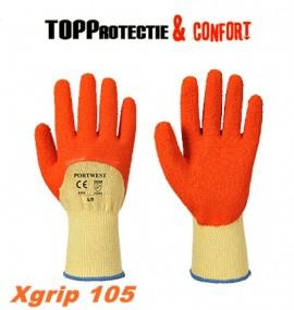 Manusi de protectie cu excelenta aderenta si rezistenta la uzura Xgrip 105
