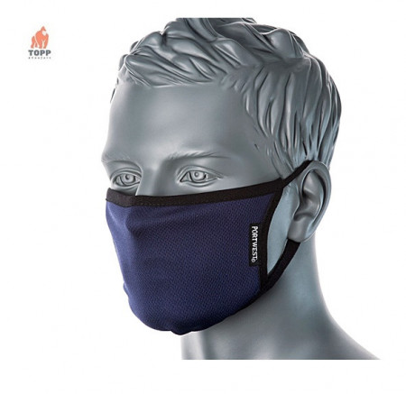 Masca protectie reutilizabila antibacteriana albastra LA COMANDA