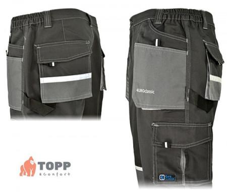 Pantaloni lucru constructor TopWork reflex