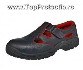 Sandale de protectie cu bombeu metalic S1