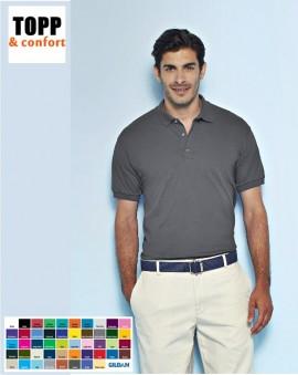 Tricou cu guler bumbac 100% diverse culori rosu,negru, albastru,portocaliu