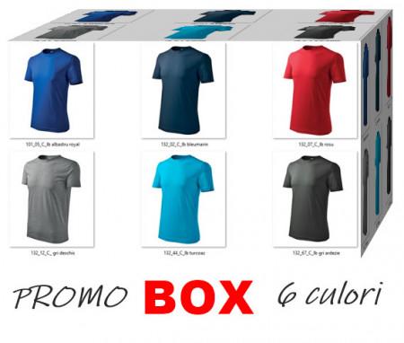 Tricouri de vara Promo BOX 6 CULORI 91.5 lei transport inclus