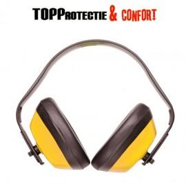 Casca antifon PW40 usori pentru protectia auzului rosu sau galben