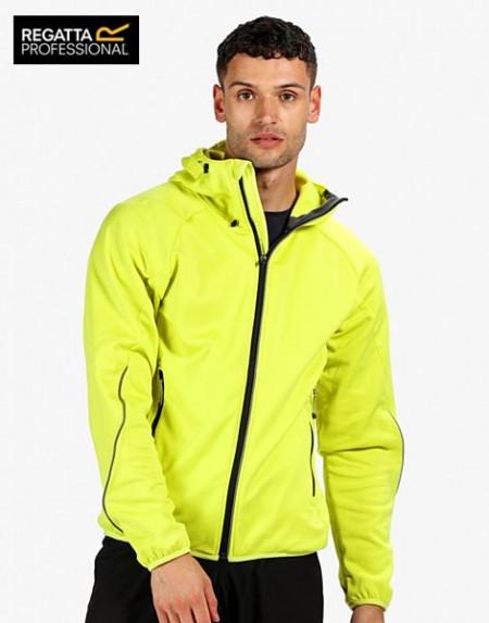 Jacheta sport barbati galben reflectorizant
