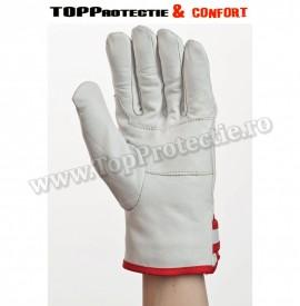 Mănuși de protecție confortabile,din piele de vitel,moale,puternica