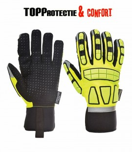 Manusi profesionale de protectie Anti-Impact picouri PVC in palma