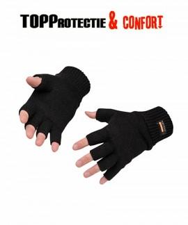 Manusi tricotate fara capete de degete Insulatex