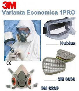Semi-masca Excelenta protectie 3M-6200 1PRO pomicultura, agricultura, vopsitorie