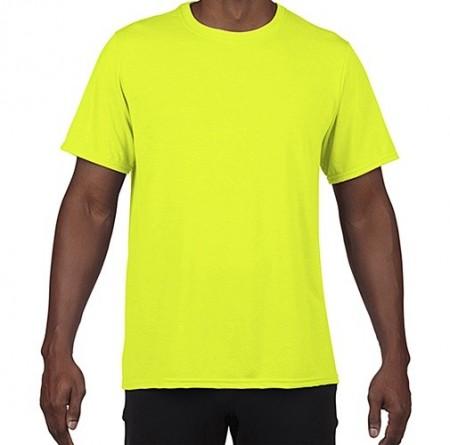 Tricou galben NEON de vizibilitate