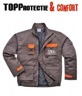 Jacheta de iarna captusita pentru lucru la temperaturi scazute