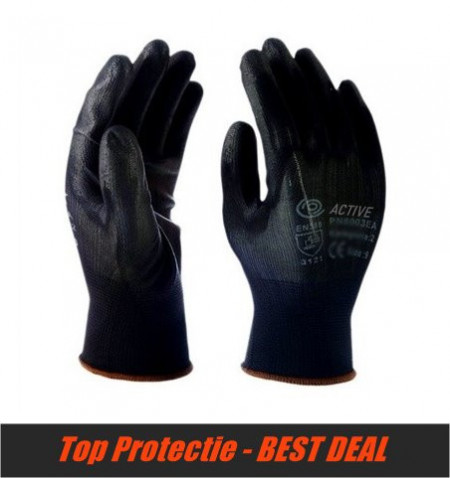Manusi de protectie de precizie negre PRET 240