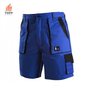 Pantaloni scurti bumbac 100% albastri