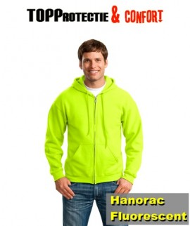 Hanorac galben Fluorescent